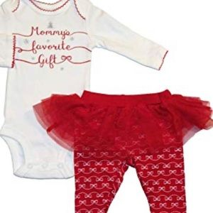 Brand new! Baby girl holiday outfit